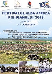 Alba Afroda - Pianu - afis Compact